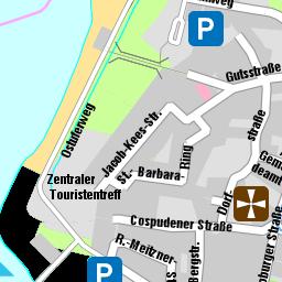 Parkplatz cospudener see mühlweg